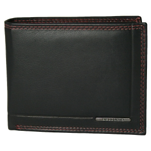 1e90be5eba885 Oryginalny dwukolorowy portfel męski ze skóry Bellugio