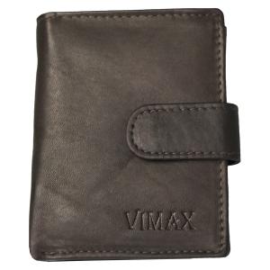 18a37cff18770 Mały pionowy portfel męski ze skóry Vimax