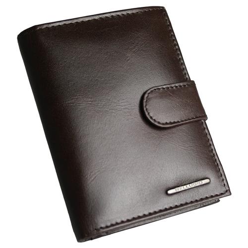 d4a5f4412c635 Elegancki skórzany portfel męski Bellugio