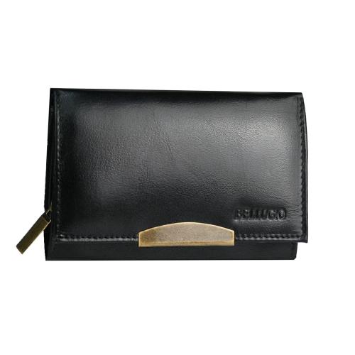 d816074700b0e Mały portfel damski ze skóry Bellugio