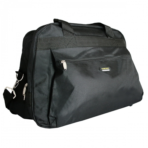 a1e35d8618fa9 Torba podróżna z nylonu czarna marki Sanchez Casual