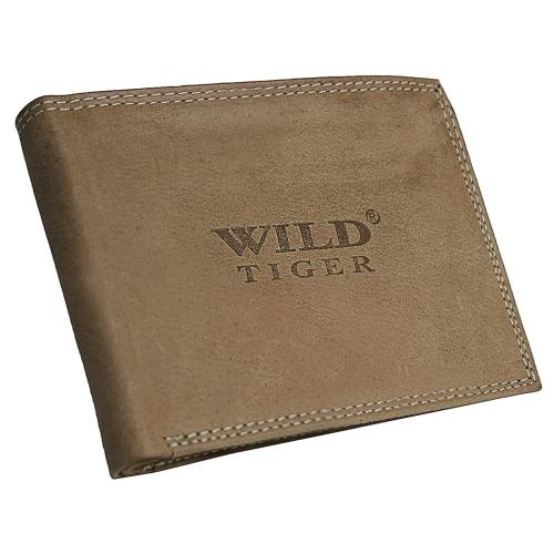 a2adae3dee42b Portfel męski poziomy Wild Tiger