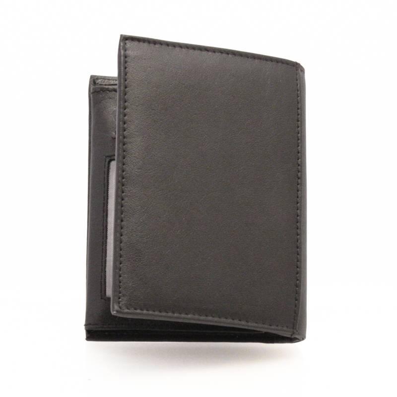 4fc913a24c4a8 Pionowy portfel męski skórzany Wild Tiger. Dostępność w magazynie