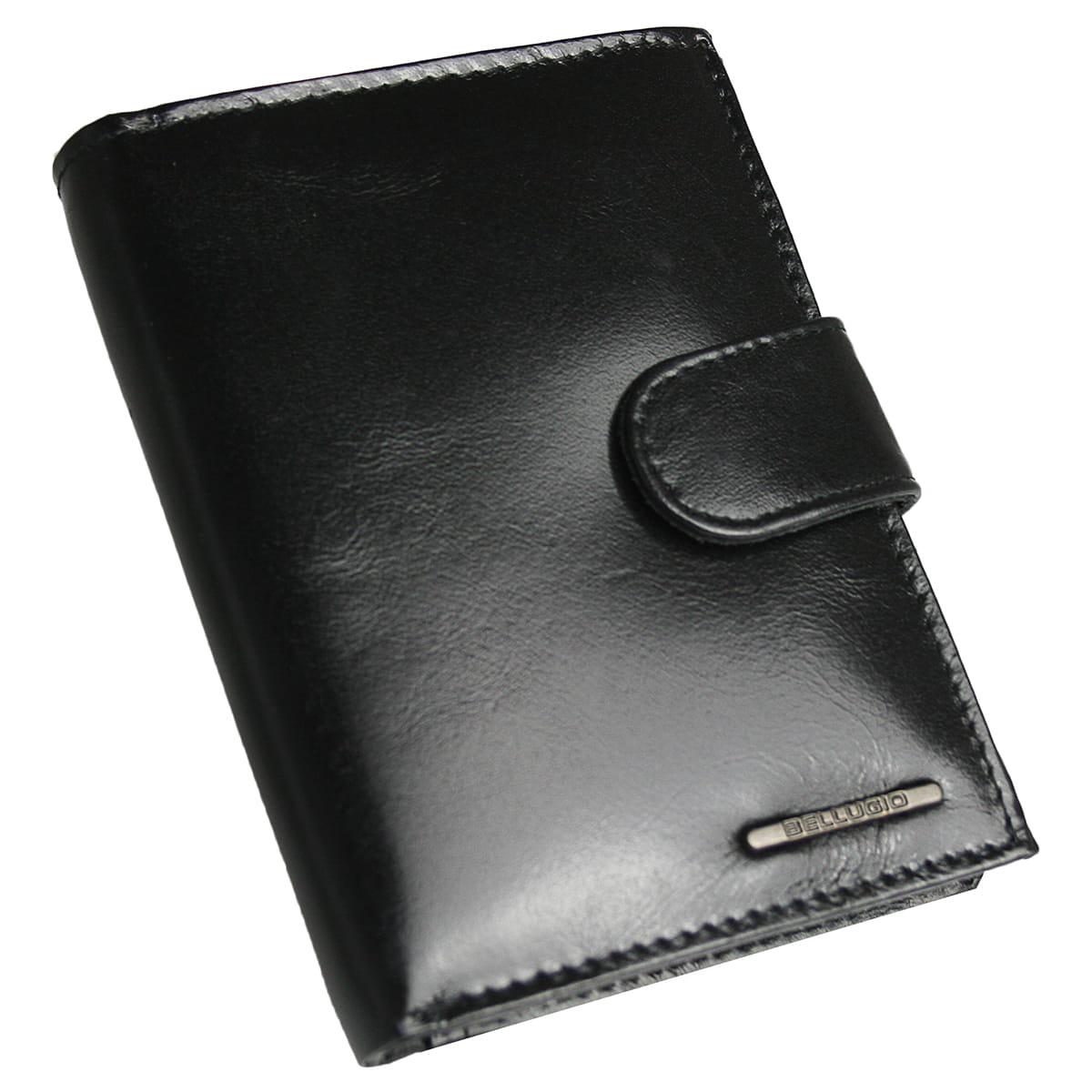 b951bd5c68fde Elegancki skórzany portfel męski Bellugio
